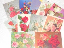Отдается в дар «Открытки. Розы»
