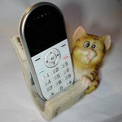 Отдается в дар «Подставка под телефон»