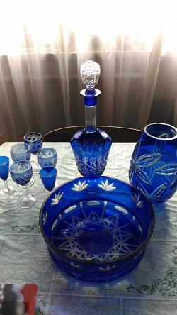 Отдается в дар «Хрусталь: графин, рюмки, ваза для фруктов»