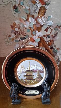 Отдается в дар «Тарелочка Japan Сувенирная»