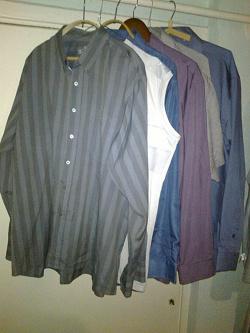 Отдается в дар «Рубашки на высокого мужчину»