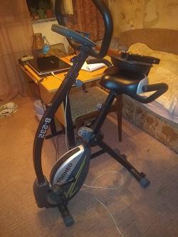 Отдается в дар «Велотренажер складной»