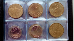 Отдается в дар «Юбилейные монеты Украины»