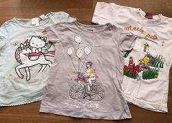 Отдается в дар «Девочке, 3 года, футболки»