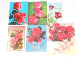 Отдается в дар «Открытки с розами»