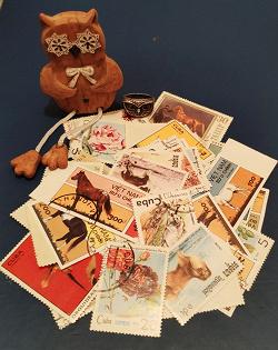 Отдается в дар «Почтовые марки»