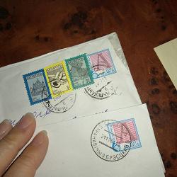 Отдается в дар «Почтовые конверты из Беларуси»