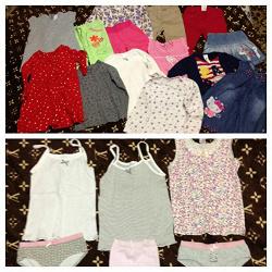 Отдается в дар «Пакет одежды для девочки 2-3 лет»