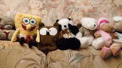 Отдается в дар «Две игрушки. Мишка и машинка. Мой хм»