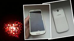 Отдается в дар «Смартфон Samsung galaxy s3 белый. Рабочий»