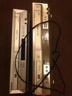 Отдается в дар «DVD+VHS samsung в ремонт или на запчасти»
