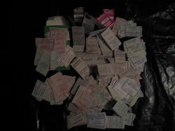 Отдается в дар «Транспортные билетики в коллекцию»