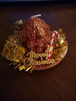 Отдается в дар «Свеча рождественская»