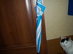 Отдается в дар «Зонт-трость BBK с полуавтоматических механизмом»