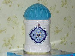 Отдается в дар «керамическая емкость для хранения в восточном стиле»