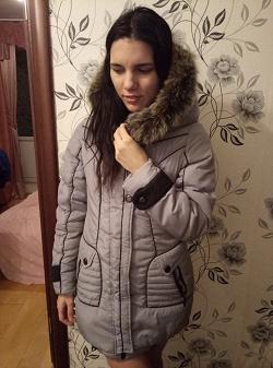 Отдается в дар «Куртка зимняя для рукодельных»