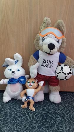 Отдается в дар «Мягкая игрушка заяц, эмблема олимпийских игр в Сочи»