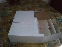 Отдается в дар «Папка архивная. Или коробка. 2 шт»