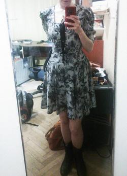 Отдается в дар «Платье из легкого материала.»