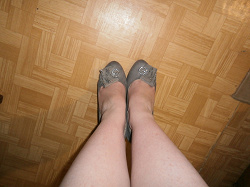 Отдается в дар «туфельки на шпильке, 37 размер»