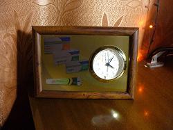 Отдается в дар «Часы в рамке»