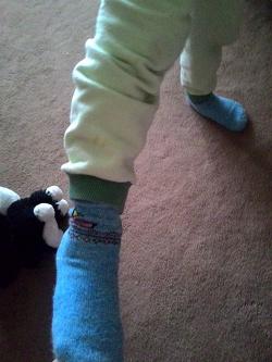 Отдается в дар «Детские носочки новые»