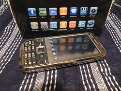 Отдается в дар «Мобильный телефон Nokia E72++ TV, 2 сим карты»