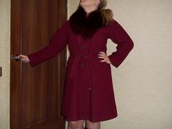 Отдается в дар «Пальто женское демисезонное 44 евро (наш 50) размер»