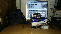 Отдается в дар «Видеокамера Panasonic (миниДВ)»