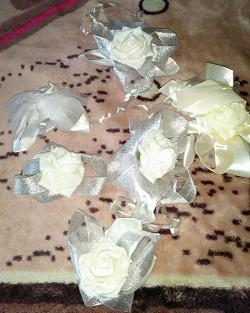 Отдается в дар «Весільний декор, стрічки на ХМ»