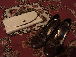 Отдается в дар «Туфли кожа 36 р. 23,5 см»