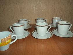 Отдается в дар «кофейные чашечки»