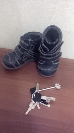 Отдается в дар «Осенние ботинки для мальчика»