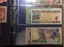 Отдается в дар «100 франков Гвинеи»