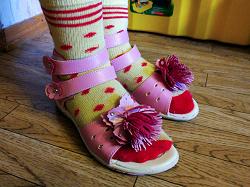 Отдается в дар «сандали девичьи 31 р-р»
