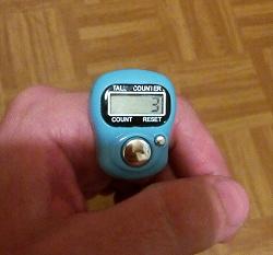 Отдается в дар «Счетчики-кликеры на палец, электронные»