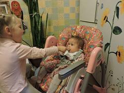 Отдается в дар «Чехол на детский стульчик»