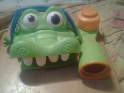 Отдается в дар «Настольная игра Elefun and Friends «Гол Крокодильчика»»