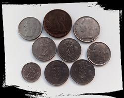 Отдается в дар «Монеты Бельгии»