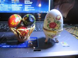 Отдается в дар «Яйца деревянные»