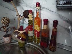 Отдается в дар «Декоративная бутылка на кухню»