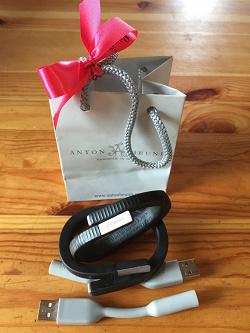 Отдается в дар «Фитнес-браслеты Jawbone UP24 S и M»