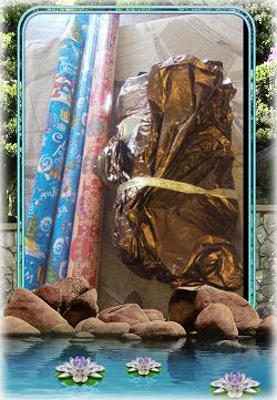 Отдается в дар «Бумага для упаковки подарков»