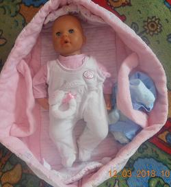 Отдается в дар «Кукла Baby Anabell»