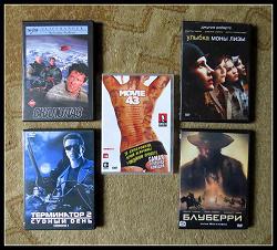 Отдается в дар «Много фильмов DVD разных жанров»