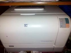 Отдается в дар «Принтер HP Color Laser Jet CP1215»