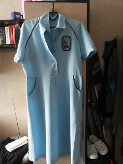 Отдается в дар «Платье новое винтажное 46+-»