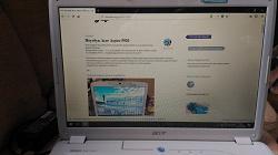 Отдается в дар «Ноутбук Acer Aspire 5920»