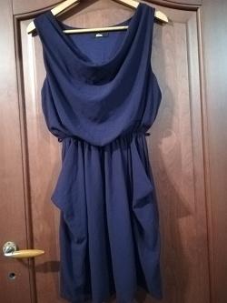 Отдается в дар «Платье фиолетовое 44-46»