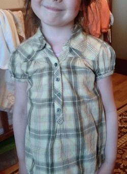 Отдается в дар «Блузки -рубашки девочке 110-116»